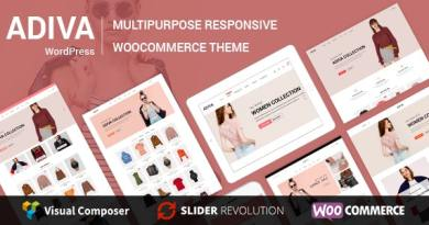 Adiva - eCommerce WordPress Theme 2