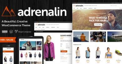 Adrenalin - Multi-Purpose WooCommerce Theme 2