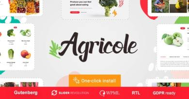 Agricole - Organic Food & Agriculture WordPress Theme 4
