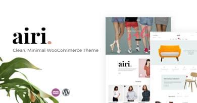Airi - Clean, Minimal WooCommerce Theme 2