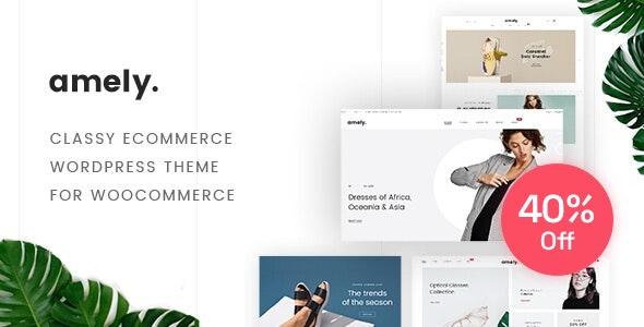 Amely - Fashion Shop WordPress Theme for WooCommerce 1