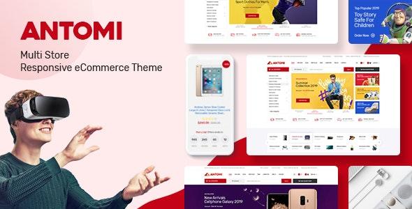 Antomi - Multipurpose Theme for WooCommerce WordPress 21