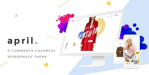 APRIL - Fashion WooCommerce WordPress Theme 1
