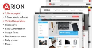 Arion - Responsive Multi-purpose WordPress Theme 2
