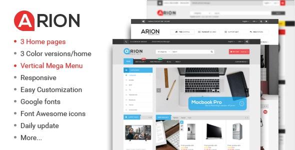 Arion - Responsive Multi-purpose WordPress Theme 1
