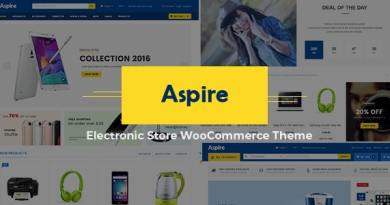 Aspire - Multipurpose Responsive WooCommerce WordPress Theme 4