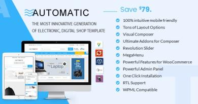 Automatic - WooCommerce Theme for Electronic, Computer, Digital Store 3
