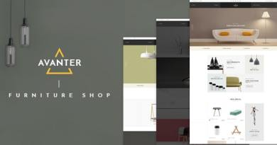 Avanter - WooCommerce Responsive WordPress Theme 2