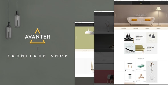 Avanter - WooCommerce Responsive WordPress Theme 14