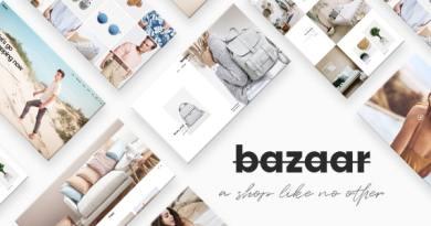 Bazaar - eCommerce Theme 11