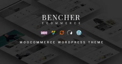 Bencher - Responsive WooCommerce WordPress Theme 3