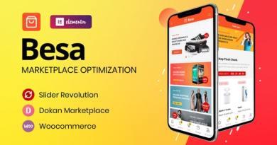 Besa - Elementor Marketplace WooCommerce Theme 3