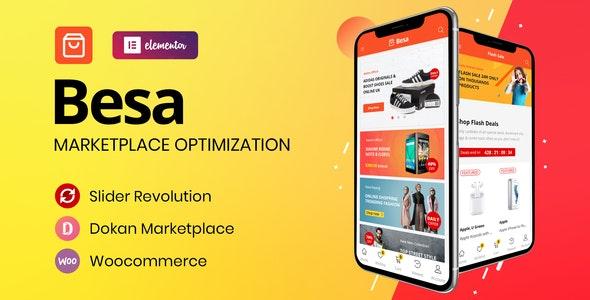 Besa - Elementor Marketplace WooCommerce Theme 7