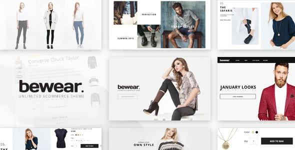 Bewear - Fashion LookBook WooCommerce Theme 1