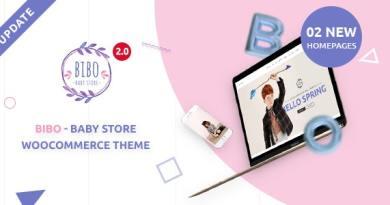 Bibo Baby Store & Kids Shop WooCommerce WordPress Theme 3