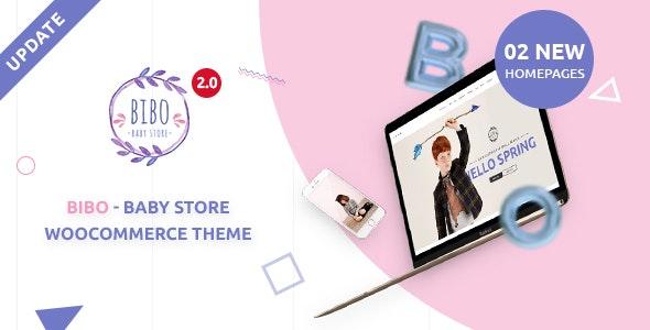 Bibo Baby Store & Kids Shop WooCommerce WordPress Theme 2