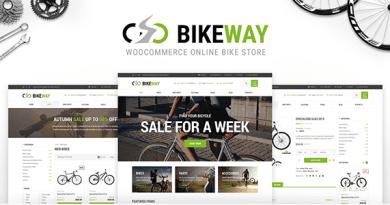 Bikeway - Sport Shop WooCommerce Theme 2