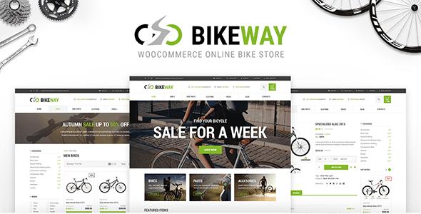 Bikeway - Sport Shop WooCommerce Theme 5