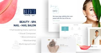 Bleute - WordPress theme Beauty Spa 4
