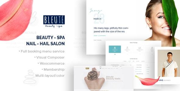 Bleute - WordPress theme Beauty Spa 34