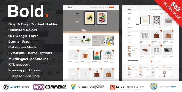 Bold. - A responsive WordPress & WooCommerce Theme 15