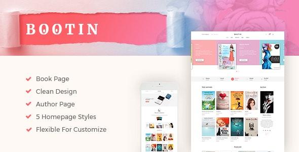Bootin - Book Store WooCommerce WordPress Theme 1