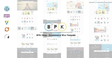 BPK Shop - WooCommerce Responsive Theme 2