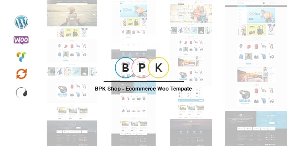 BPK Shop - WooCommerce Responsive  Theme 11