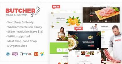Butcher - Meat Shop WooCommerce WordPress Theme 4