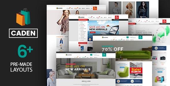 Caden - Mega Store Responsive WordPress Theme 17