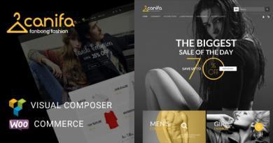 Canifa - Fashion Shop RTL Responsive WooCommerce WordPress Theme 3