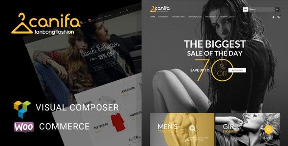 Canifa - Fashion Shop RTL Responsive WooCommerce WordPress Theme 1