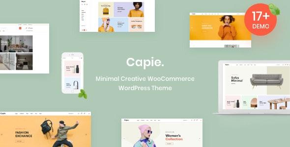 Capie - Minimal Creative WooCommerce WordPress Theme 1