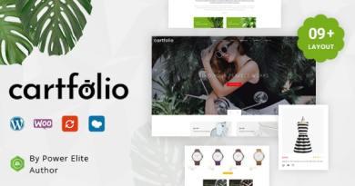 Cartfolio - Multipurpose WooCommerce Theme 4