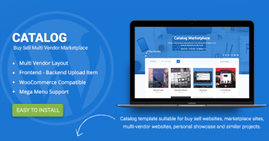 Catalog | Buy Sell / Marketplace Responsive WordPress Theme 16