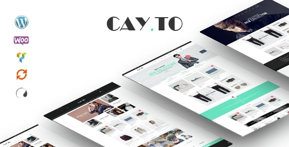 Cayto - WooCommerce Responsive WordPress Theme 10