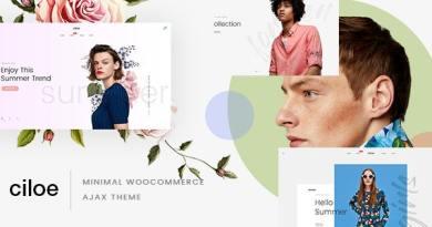 Ciloe - Multipurpose WooCommerce Theme 4