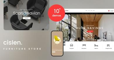 Cislen - Furniture WooCommerce Theme - RTL 4