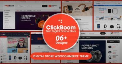ClickBoom - Digital Store WooCommerce WordPress Theme (6+ Homepage Designs) 2