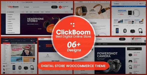 ClickBoom - Digital Store WooCommerce WordPress Theme (6+ Homepage Designs) 3