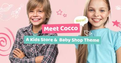 Cocco - Kids Store and Baby Shop Theme 3