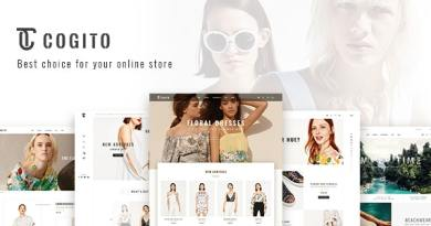 Cogito - Clean, Minimal WooCommerce Theme 4