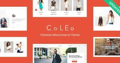 Coleo | A Stylish Fashion Clothing Store WordPress Theme 2