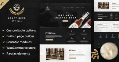 Craft Beer Nation - WooCommerce Theme 9