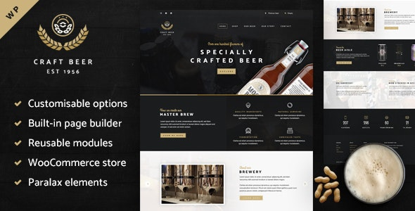 Craft Beer Nation - WooCommerce Theme 3