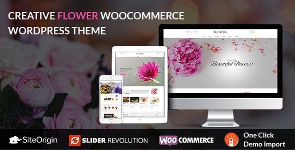 Creative Flower Woocommerce WordPress Theme 1