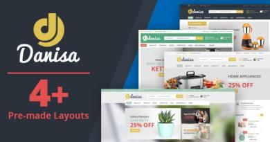 Danisa - Theme for WooCommerce WordPress 3