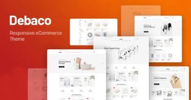 Debaco - Kitchen appliances for WooCommerce WordPress 4