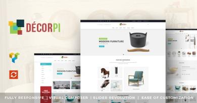 DecorPi - Responsive Multipurpose WordPress WooCommerce Theme 3