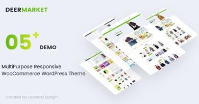 DeerMarket - Multipurpose Responsive WooCommerce WordPress Theme 4